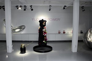 exhibition view 'flower power'