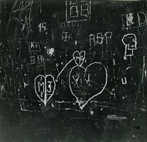 graffiti by robert doisneau