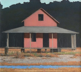 the red shack, guilford (sold) by peter bergeron