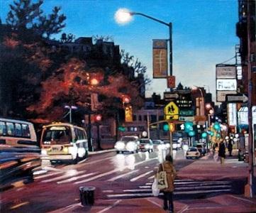 traffic near fulton by roxann poppe leibenhaut