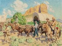 western wagon train by tim solliday