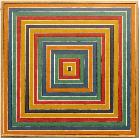 untitled (stella concentric squares) by richard pettibone