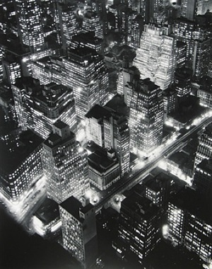 nightview, new york by berenice abbott