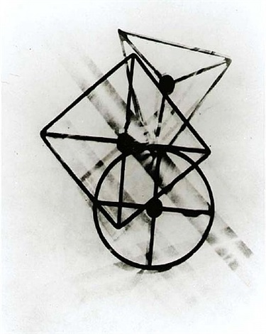untitled positive photogram by lászló moholy-nagy