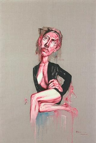woman by zeng fanzhi