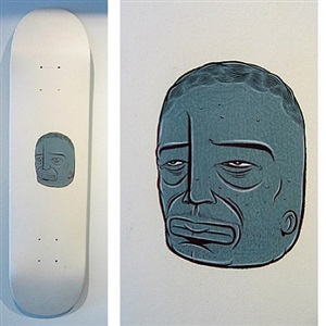 skateboard deck by barry mcgee