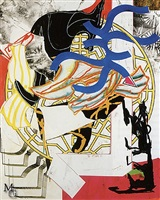 the hyena by frank stella