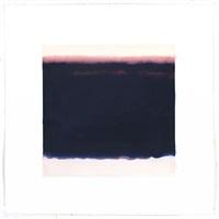 film edge (purple horizon, black water) by isca greenfield-sanders