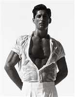 tony in white, hollywood by herb ritts