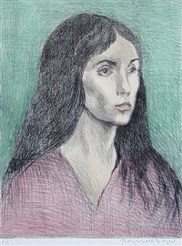 portrait by raphael soyer