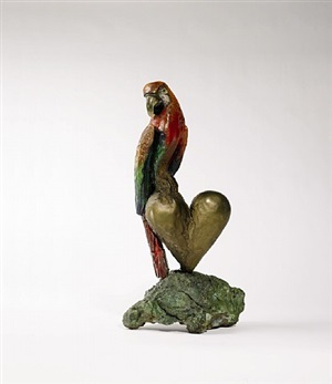the parrot by jim dine