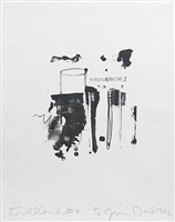 toothbrush iv by jim dine