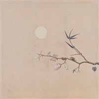 bird painting without bird by ji dachun