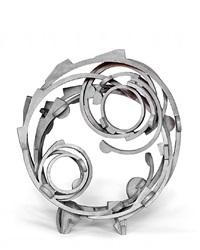 circle gray by joel perlman