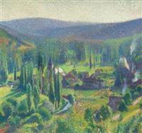 la vallée du vert à labastide-du-vert by henri etienne-martin