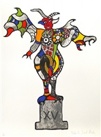 the devil xv by niki de saint phalle