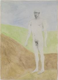 standing man by elisabeth frink