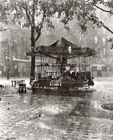 monsieur barre's merry-go-round by robert doisneau