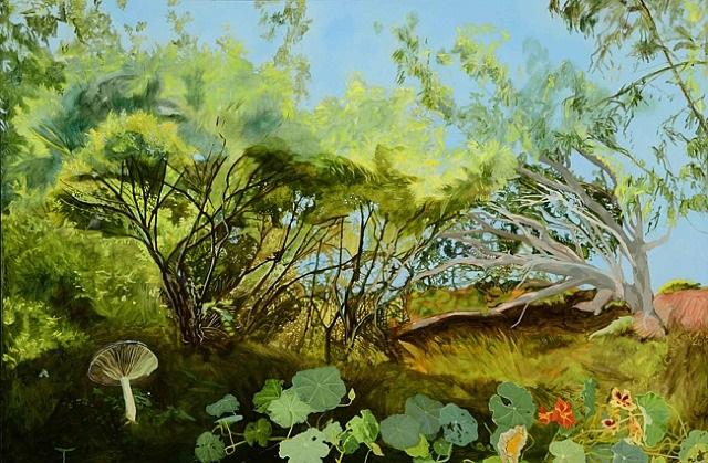 nasturtiums by cayetana conrad