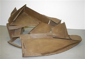 table piece y-13 'tumble' by sir anthony caro