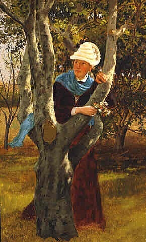 among the trees by john george brown
