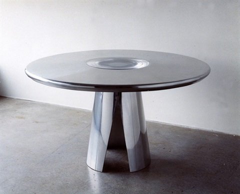 vortex dining table by mattia bonetti