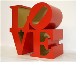 love (red / gold) by robert indiana