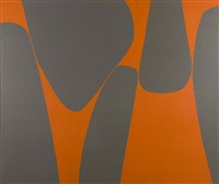 magical space forms by lorser feitelson