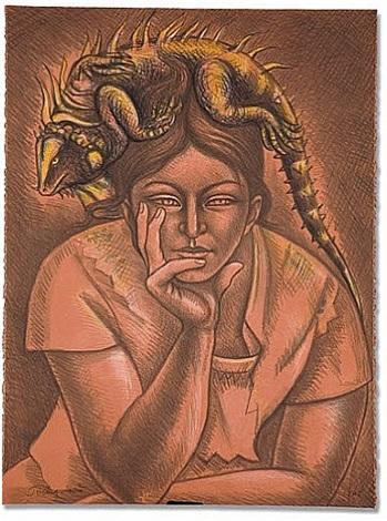 melancholy by raúl anguiano