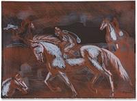 onyx horses by raúl anguiano