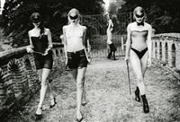 guardians ( women walking away) by ellen von unwerth