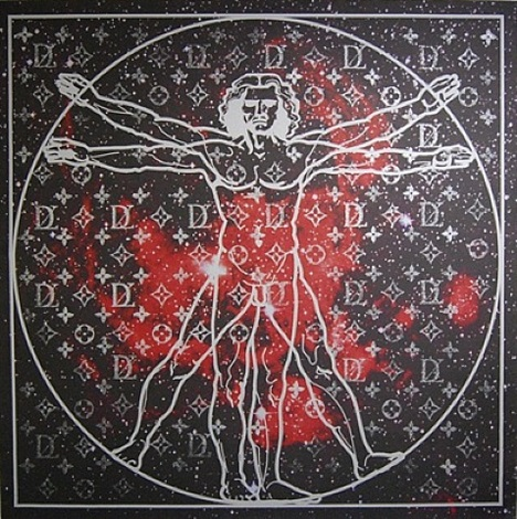 vitruvian man by zevs