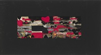 untitled (valentine's card) by alberto burri