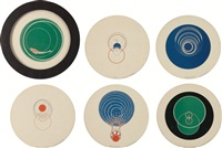 rotoreliefs (six double-sided works) by marcel duchamp