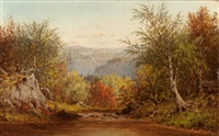 autumn in the catskills by charles wilson knapp
