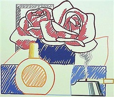 scribble version still life by tom wesselmann
