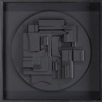 full moon by louise nevelson