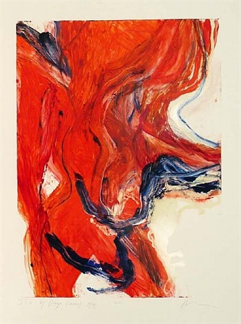 fire by days (mono) 9/iii by rita ackermann