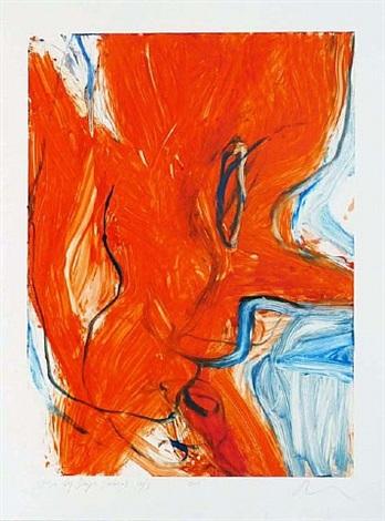 fire by days (mono) 10/ii by rita ackermann