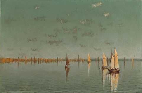 fishing fleet by dennis miller bunker