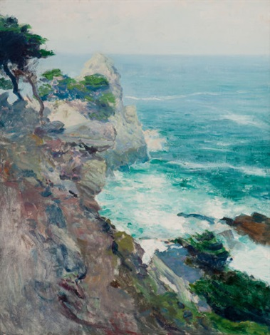 out to sea point lobos by guy rose
