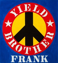 yield brother frank by robert indiana