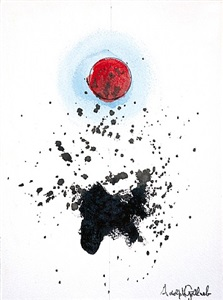 untitled 7329 by adolph gottlieb