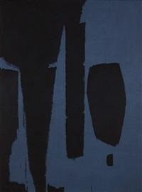 black&blue by charles pollock