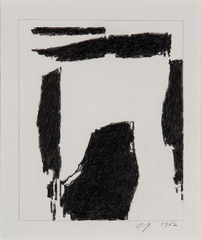 black drawing 2 by charles pollock