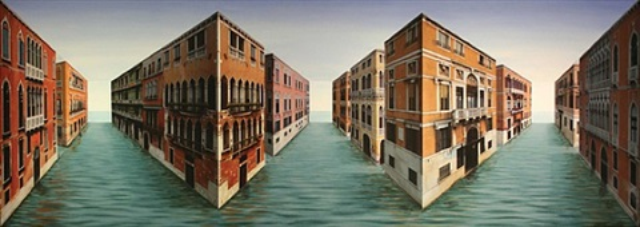 palazzi, palazzi by patrick hughes