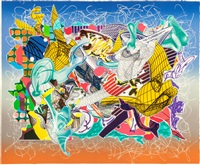 spectralia (from the imaginary places series) by frank stella