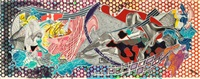 calvinia (from the imaginary places series) by frank stella