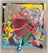 feneralia (from the imaginary places series) by frank stella