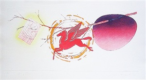 spring cheer by james rosenquist